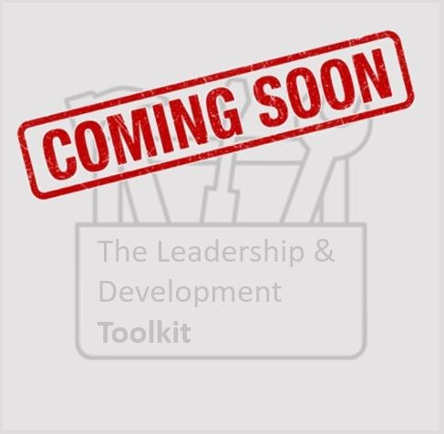 Coming soon - The leadership and development toolkit button
