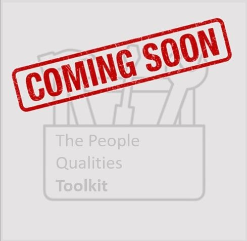 Coming soon - People qualities toolkit button